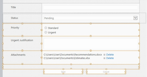 how to add nintex form