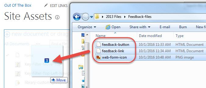Popup Feedback Form – SharePoint and Nintex OOTB